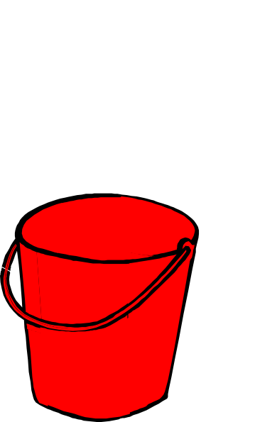 vector library stock Red clip art at. Bucket clipart ember.