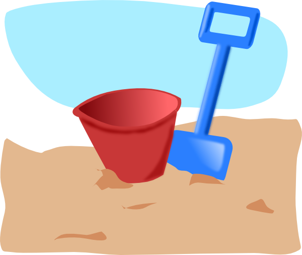 graphic freeuse Bucket clipart svg. And spade clip art