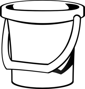 clip freeuse Bucket clipart. Sand clip art at.
