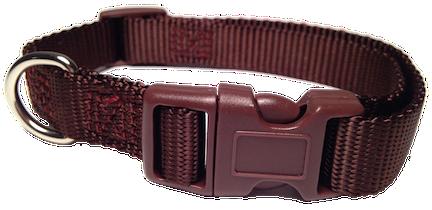 image Nylon dog collar plastic. Buckle clip