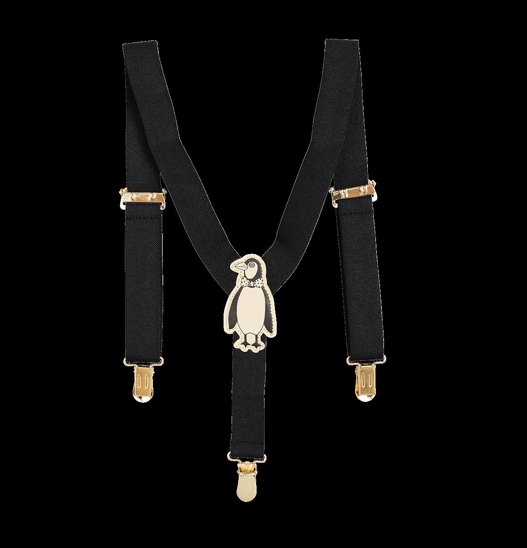 graphic freeuse stock Penguin Braces Suspenders