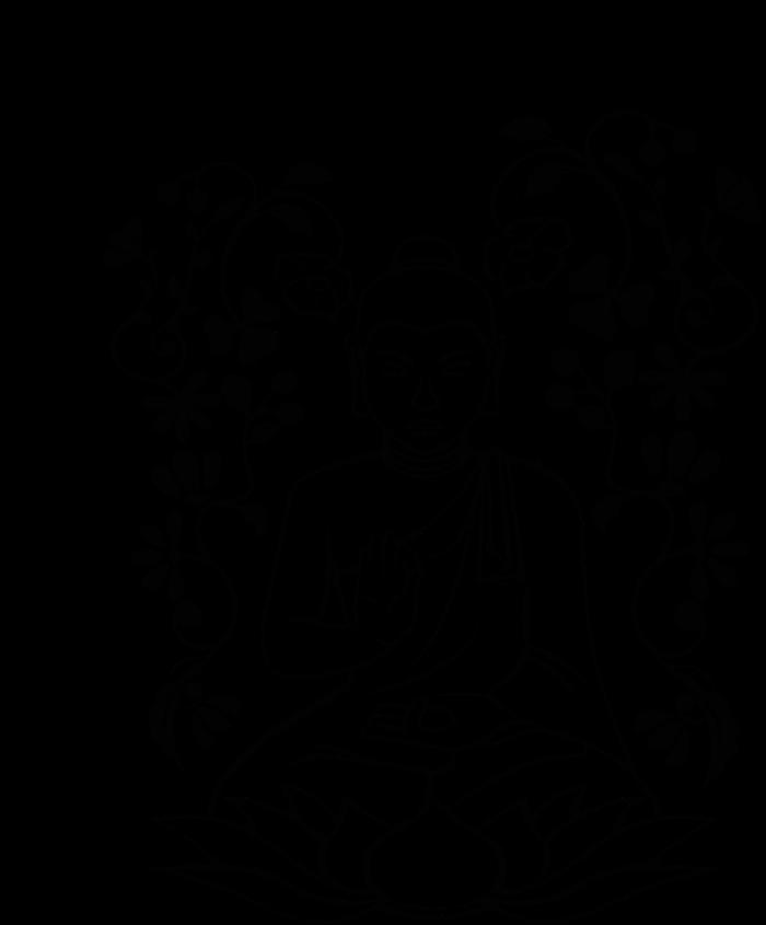 clip black and white stock Buddah drawing. Buddha sketch at getdrawings