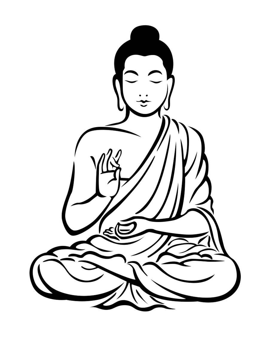 jpg transparent download Buddah drawing. Buddha rajzok google keres