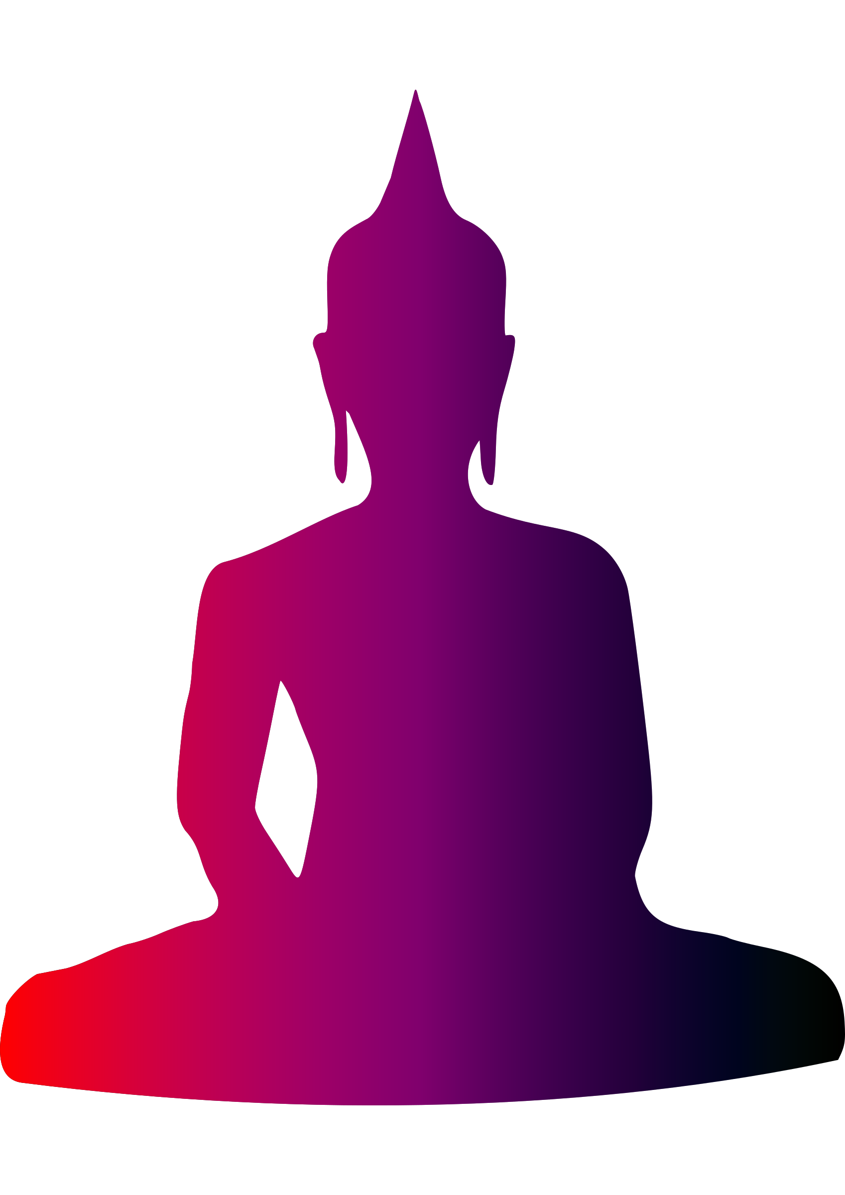 picture free Colourful. Buddha clipart