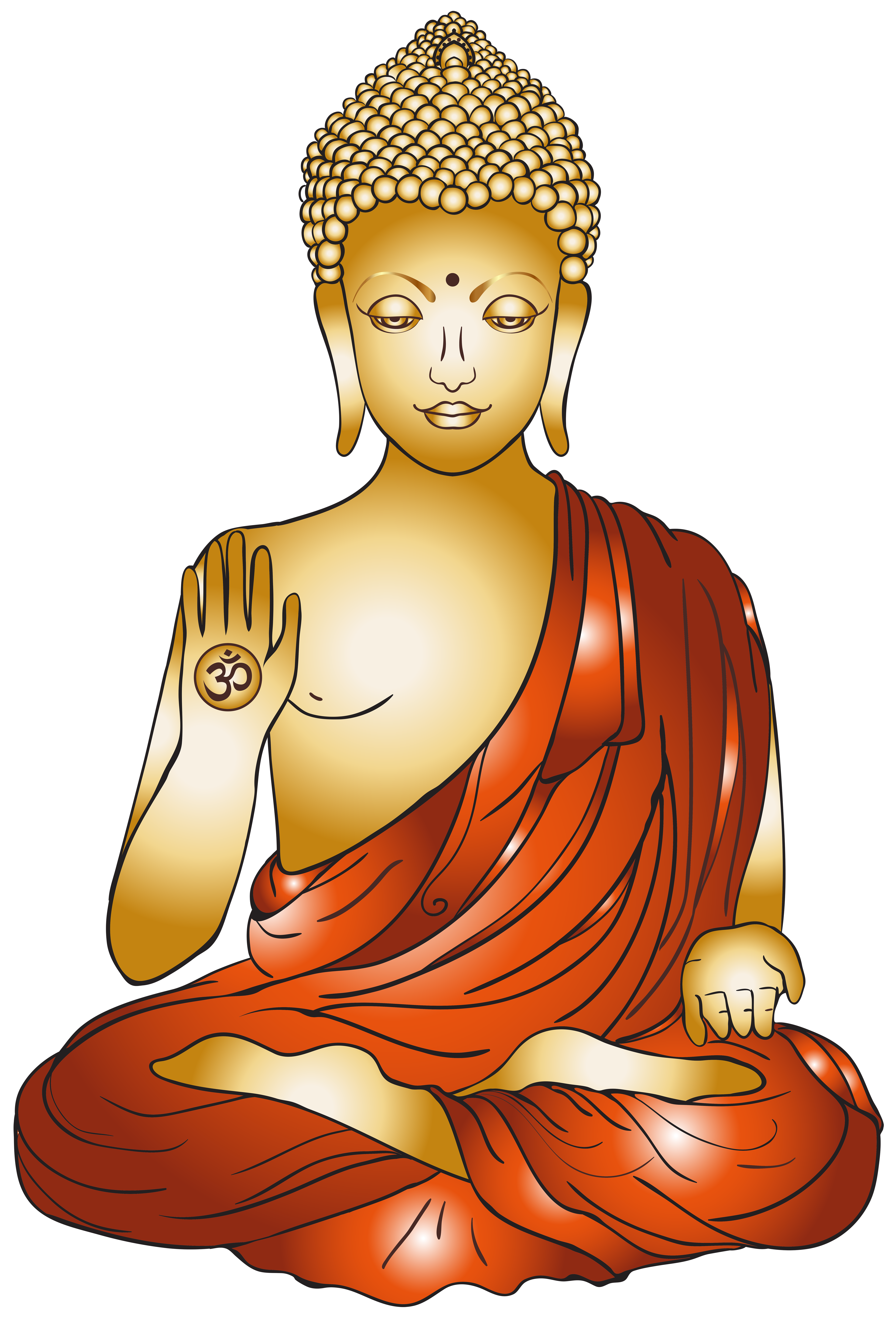 picture black and white library Buddha clipart. Png clip art best