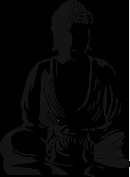 clipart transparent library meditation clipart buddha #80919713
