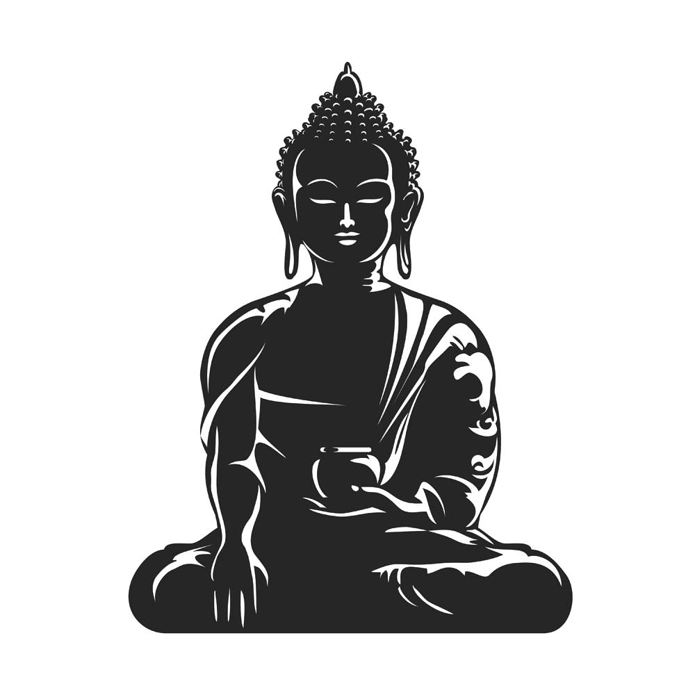 jpg royalty free library Buddha clipart cutting. Buddhism buddhist meditation clip