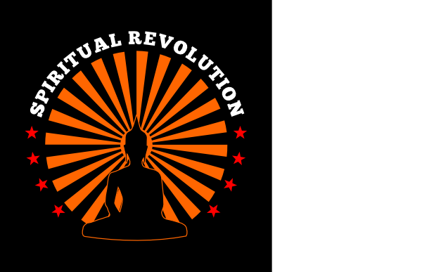 svg free Spiritual revolution with free. Buddha clipart poster.