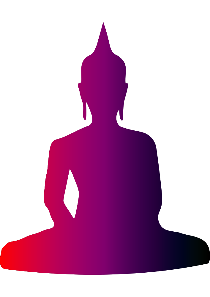 picture transparent library Buddha clipart poster. Onlinelabels clip art colourful.