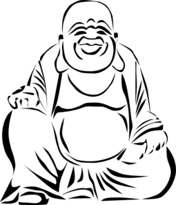 image free download Happy . Buddha clipart smiling buddha