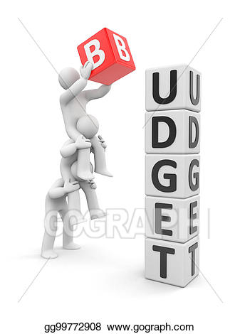 library Budget clipart. Stock illustration gg gograph