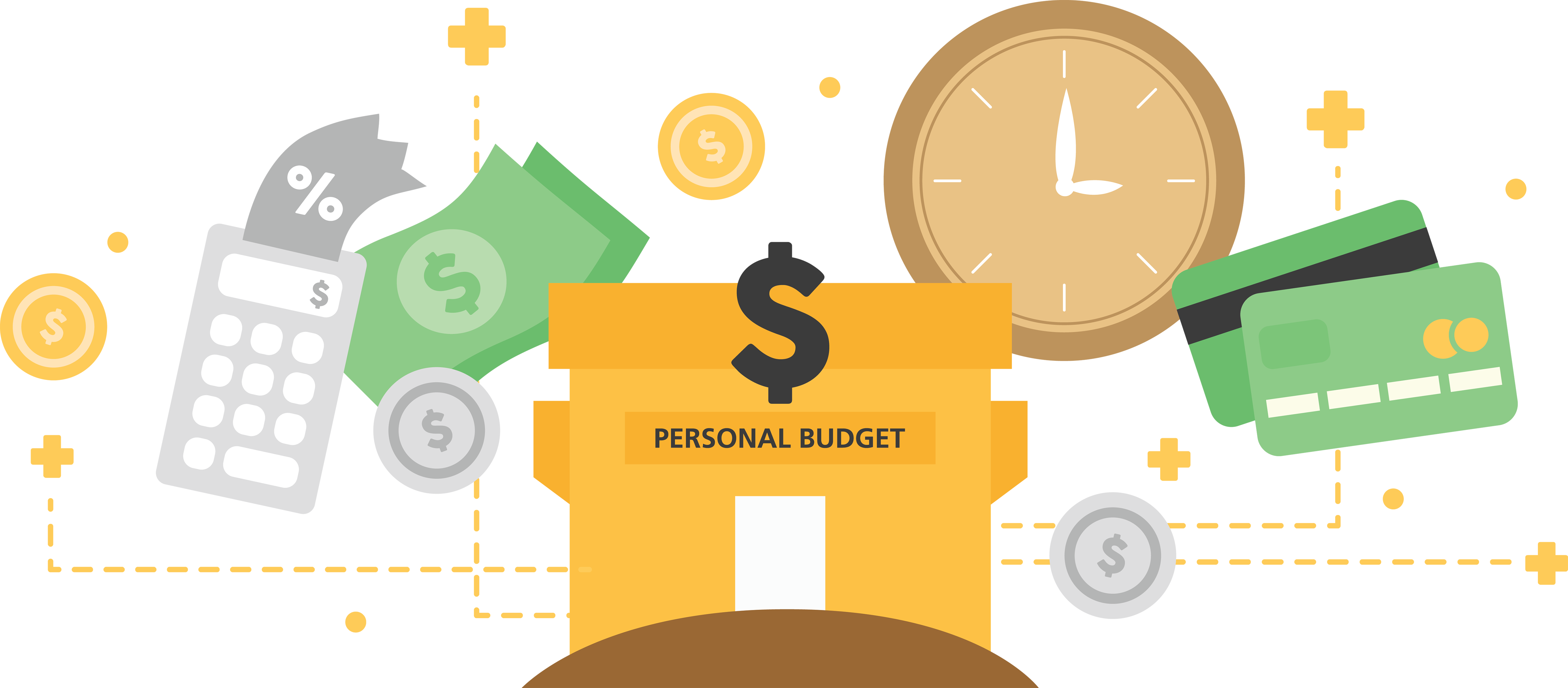 image stock How to live on. Budget clipart budget process