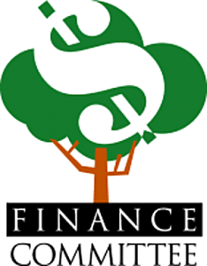 vector freeuse Clearwood community association. Budget clipart finance committee