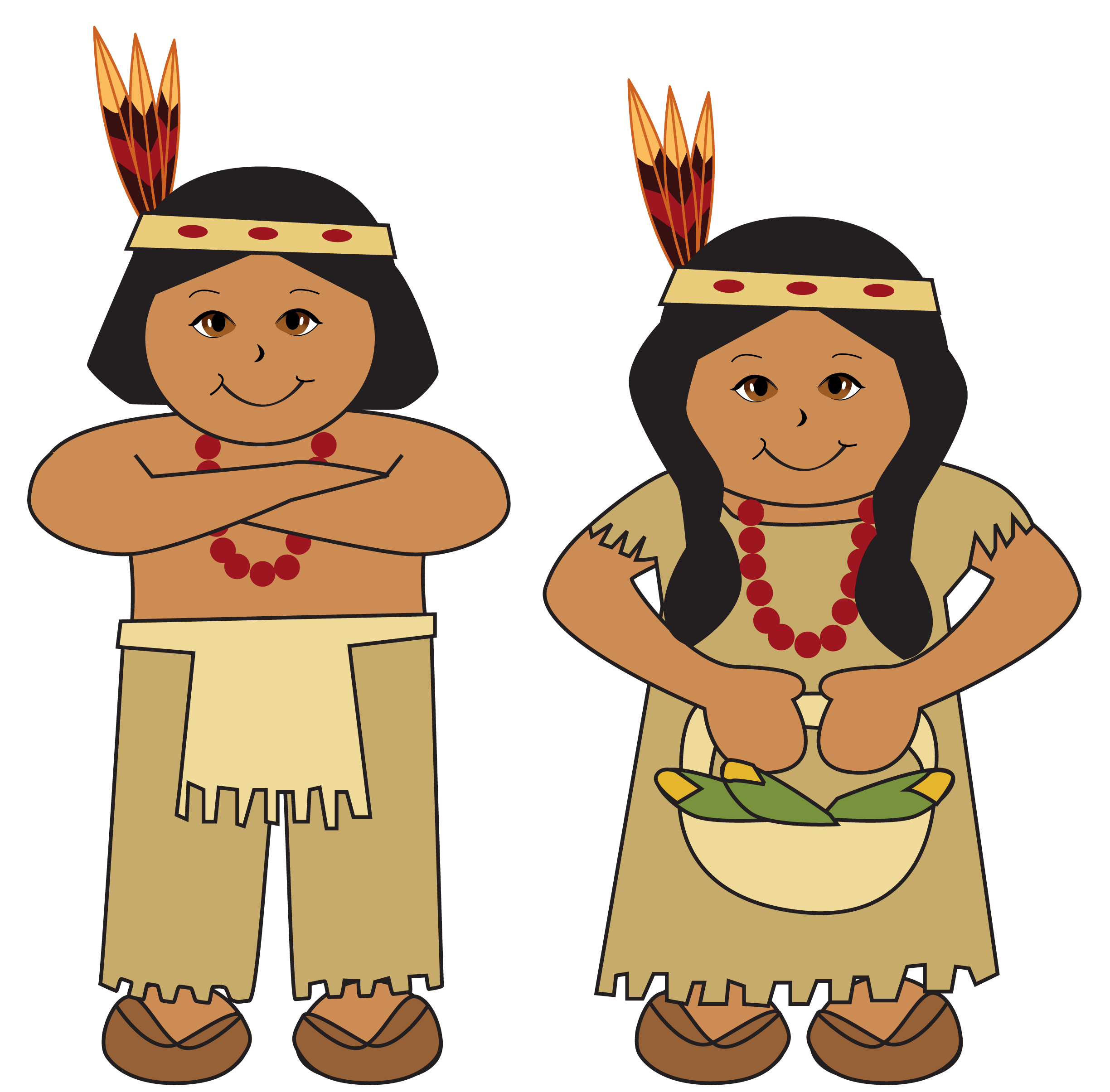 jpg royalty free stock Native americans clipart picture