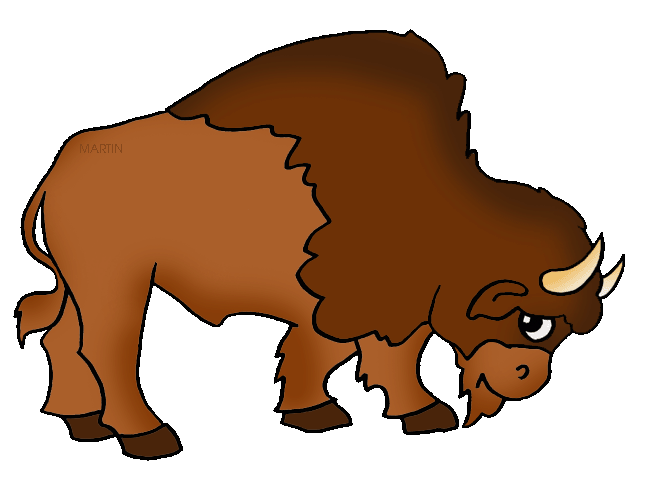 graphic free Buffalo clipart buffelo. Native americans clip art.