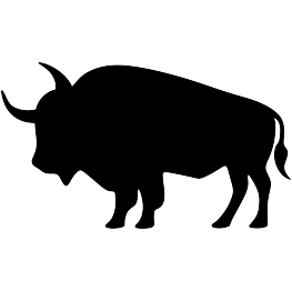 jpg free library Head at getdrawings com. Buffalo clipart silhouette.