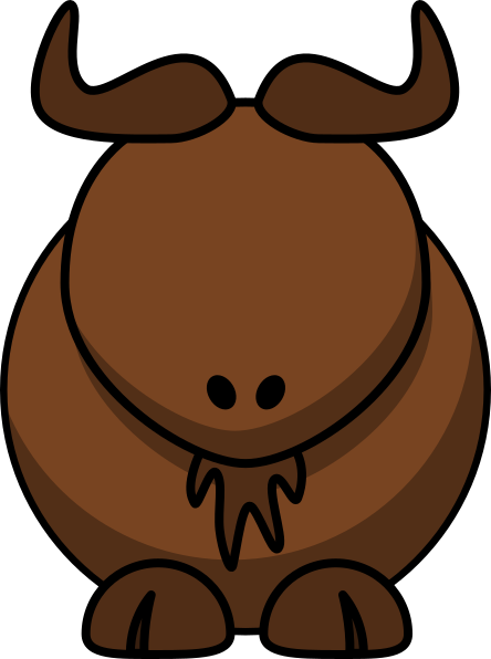 picture freeuse download Buffalo clipart svg. Water with no eyes
