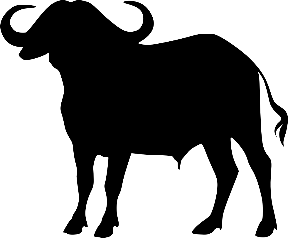 graphic freeuse Cape png icon free. Buffalo clipart svg