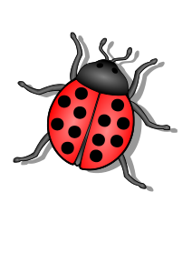 black and white download Bug clipart. Clip art free panda
