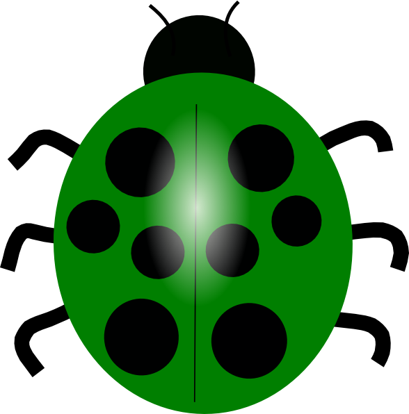 clipart black and white Bug clipart. Green ladybug clip art