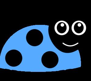 clip download Bug clipart blue bug. .