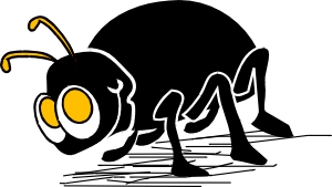 png transparent stock Cartoon insect clip art. Bugs clipart little bug
