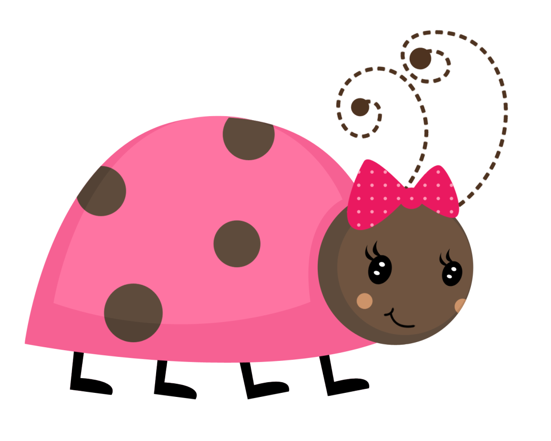 banner royalty free download Ladybug baby clip art. Butt clipart pink