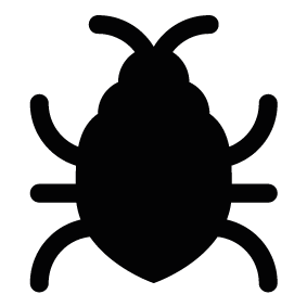image royalty free download Bug vector. Silhouette of