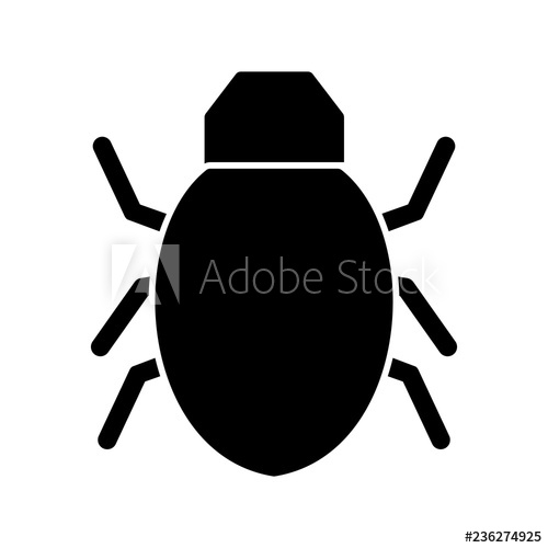 stock Icon buy this stock. Bug vector