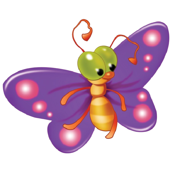 image royalty free stock Cute butterfly cartoon clip. Butterflies clipart clear background.