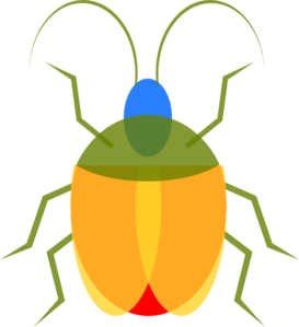 image free stock Bug clip art at. Bugs clipart insect.