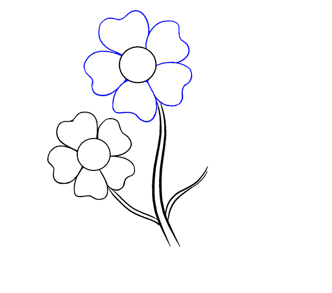vector freeuse How to Draw Cartoon Flowers