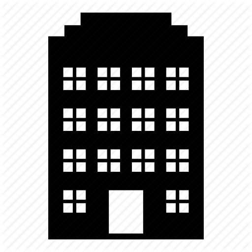 graphic black and white download Build vector. House by aaron kim.