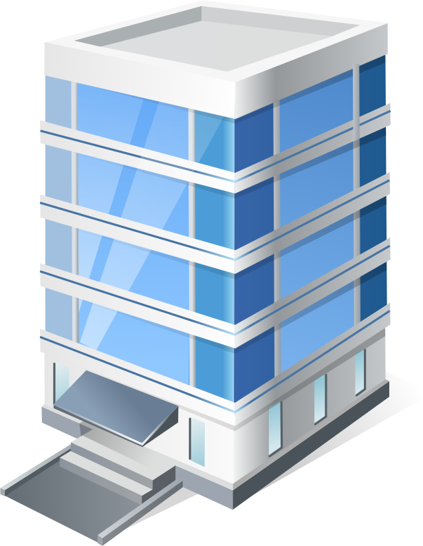 banner free Office . Building clipart