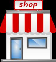 vector transparent Building clipart barber shop. Scissors clip art download