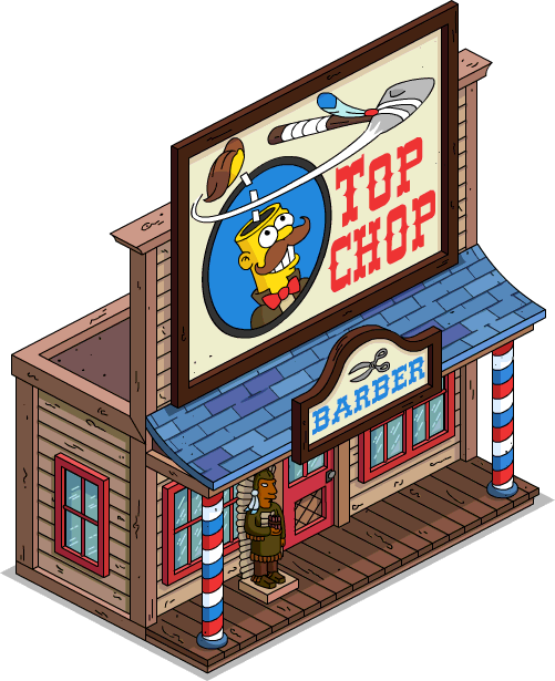 picture library Image top chop menu. Building clipart barber shop.
