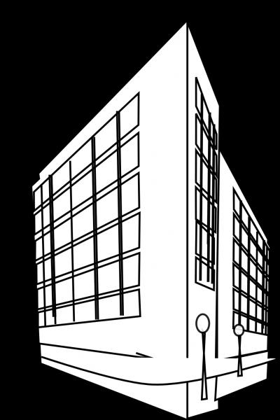 jpg black and white download Clipartaz free collection. Building clipart black and white