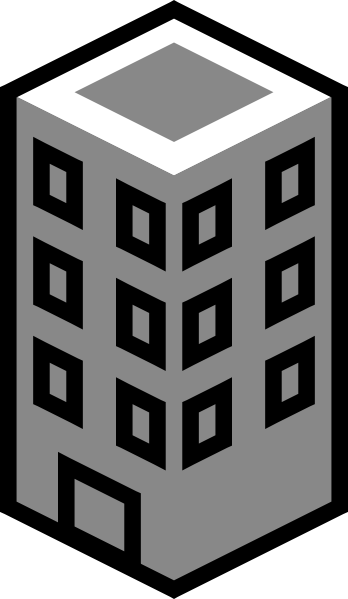 banner transparent library Building clipart black and white free clipart images