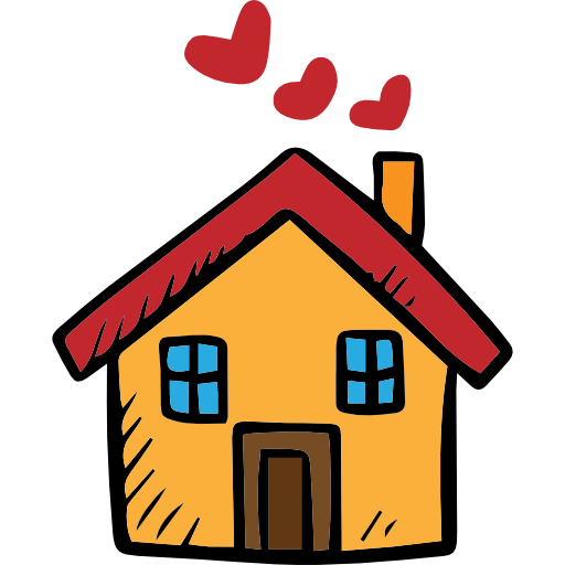 picture library stock Valentines day romantic home. Building clipart charity