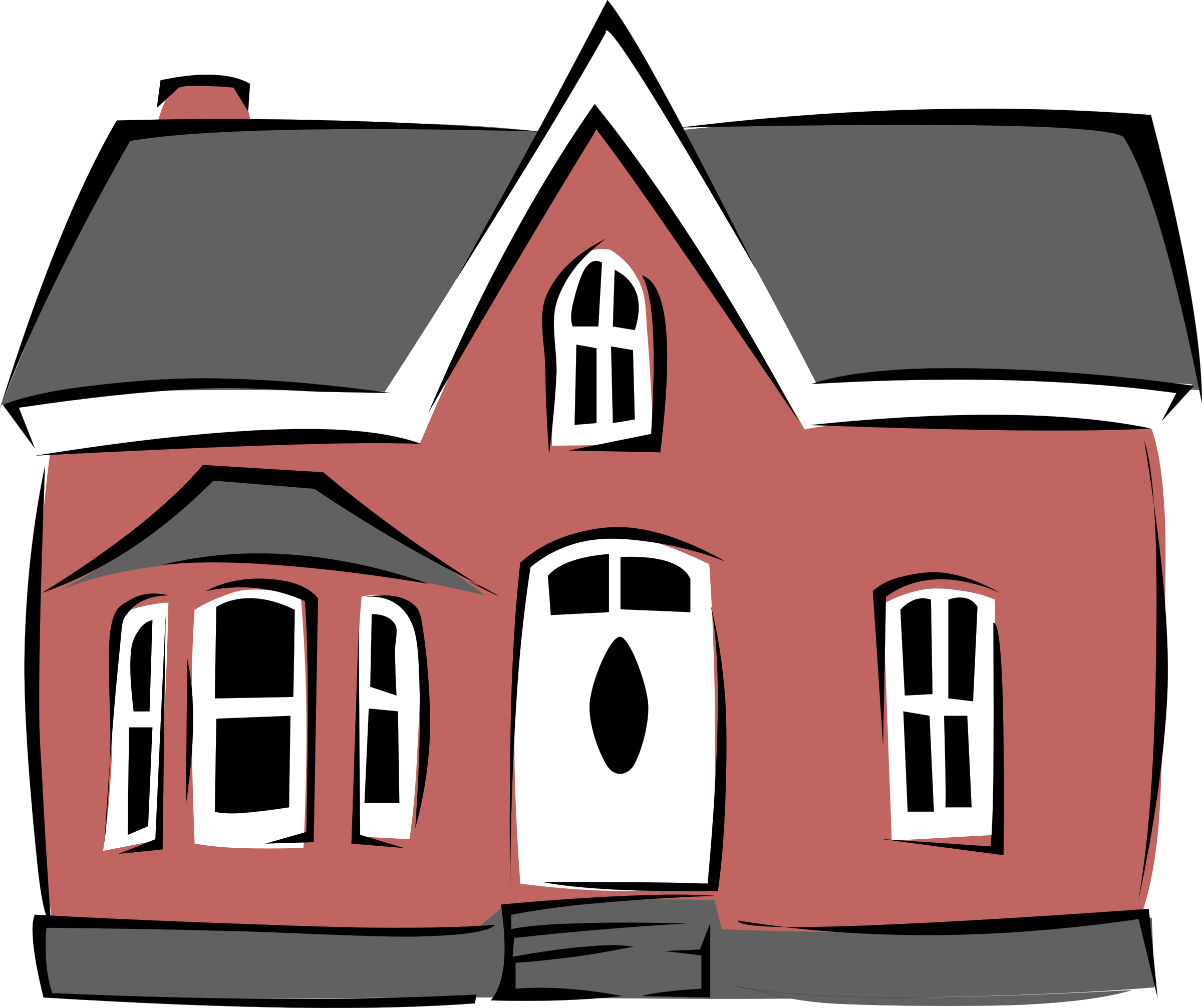 royalty free Building clipart charity. Small house by gerald