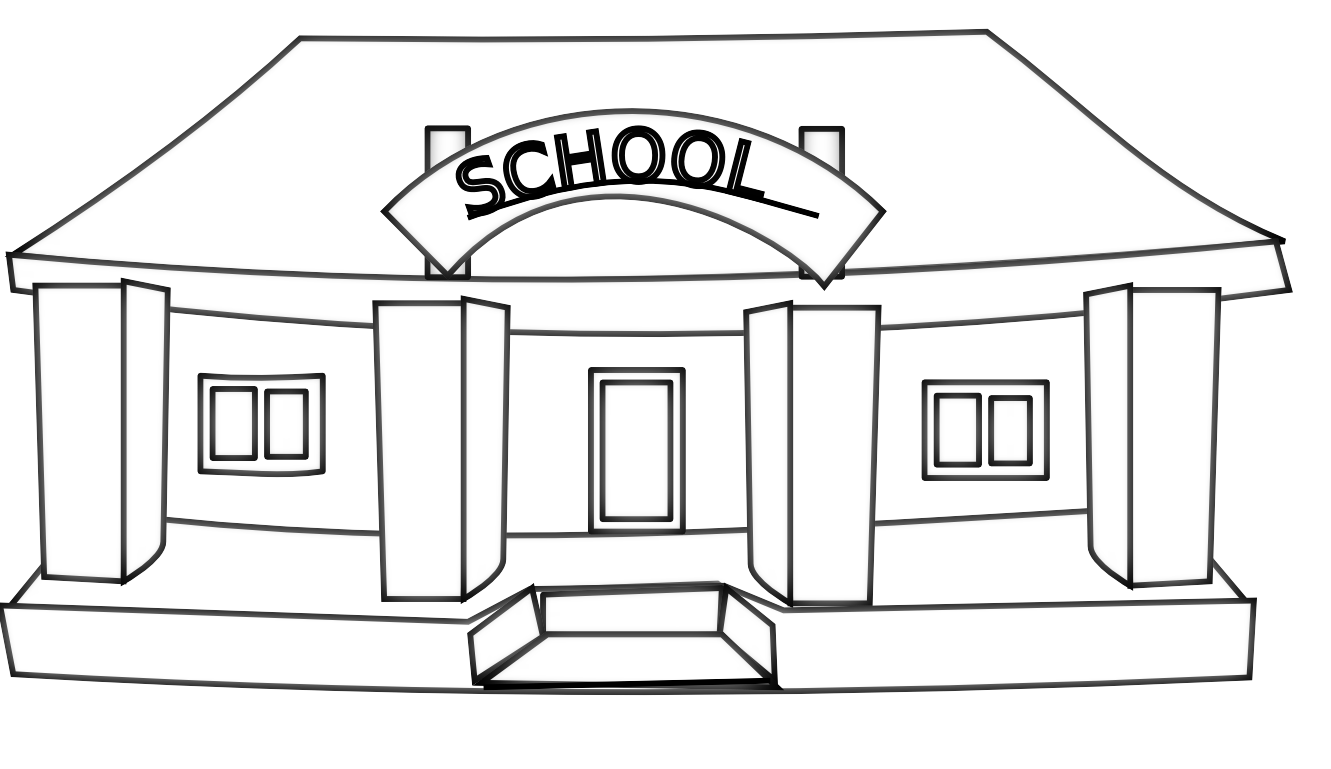image transparent download Building clipart highschool.  collection of high.