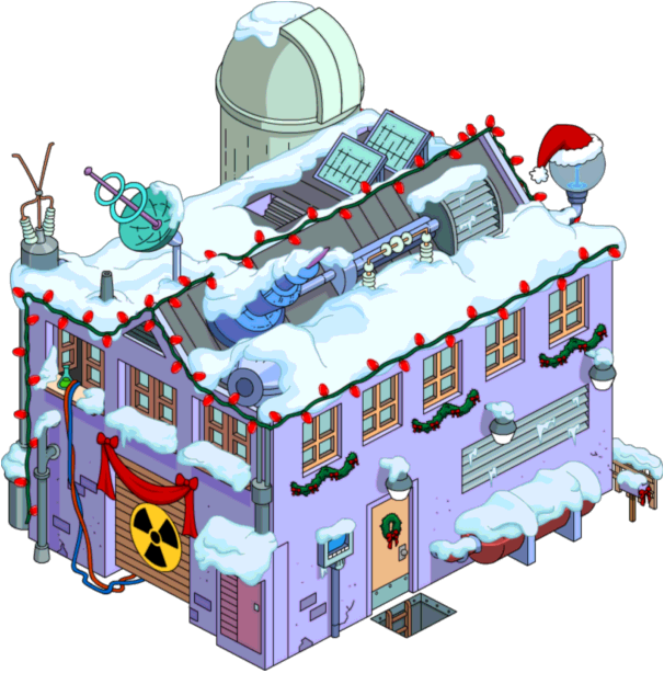 clip library library Christmas frink s lab. Building clipart laboratory building