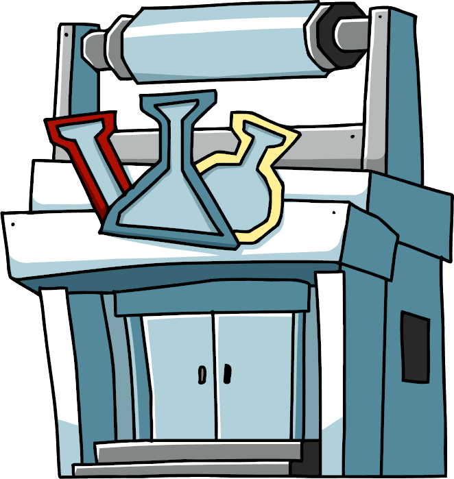 vector stock Scribblenauts wiki fandom powered. Building clipart laboratory building