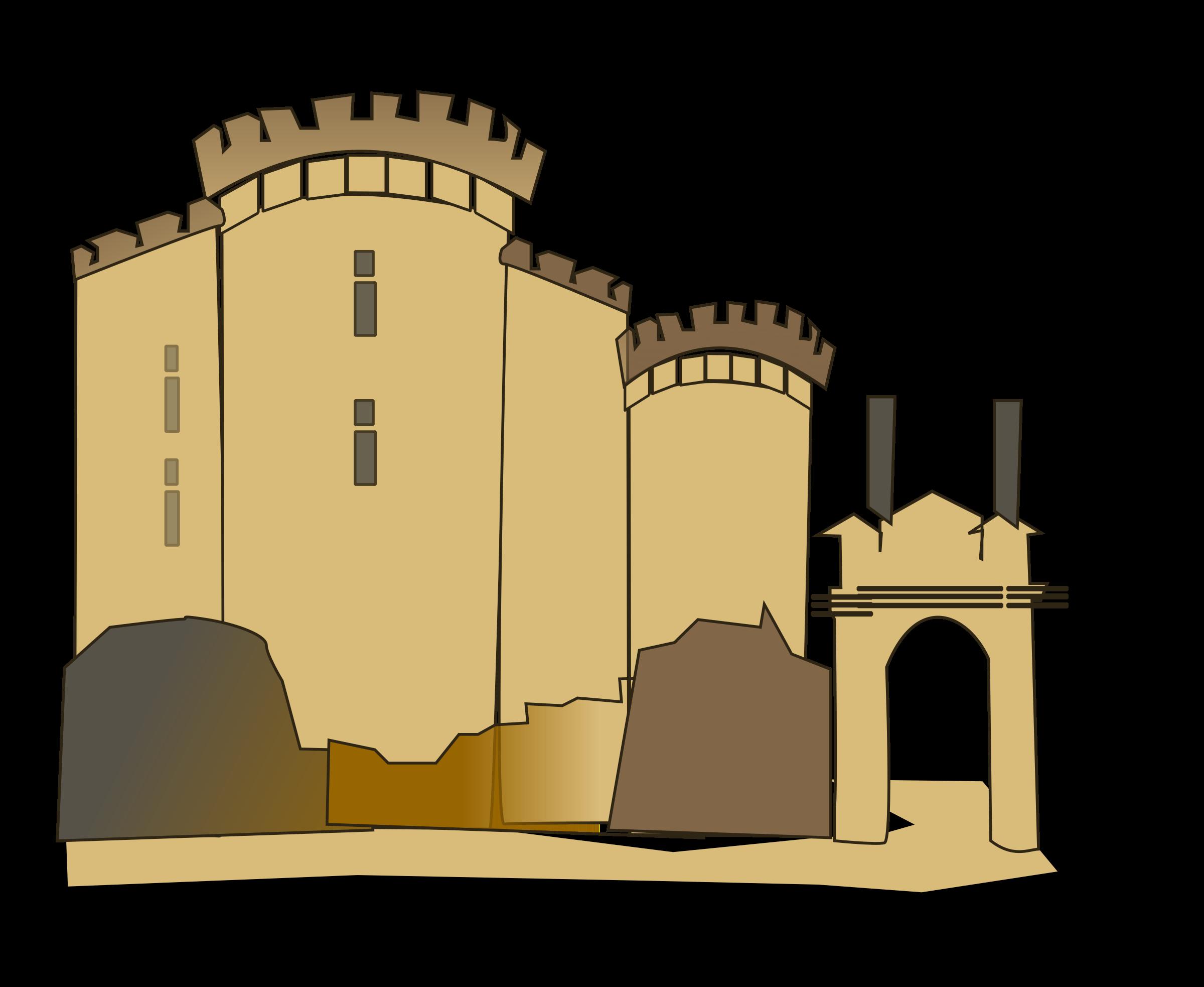 jpg royalty free library Building clipart medieval building. Bastille big image png