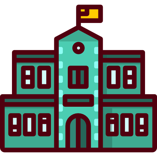 image transparent library Building clipart university. Icon