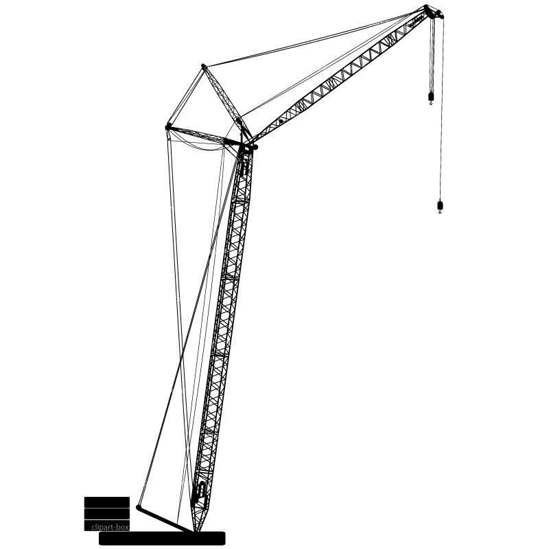 royalty free Free cliparts download clip. Construction crane clipart.