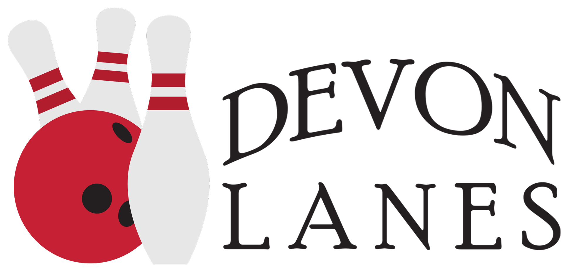 svg transparent library Family fun devon lanes. Buildings clipart bowling alley