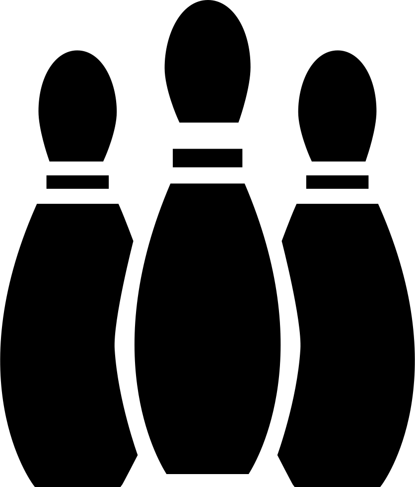 clip royalty free Huilv svg png icon. Buildings clipart bowling alley