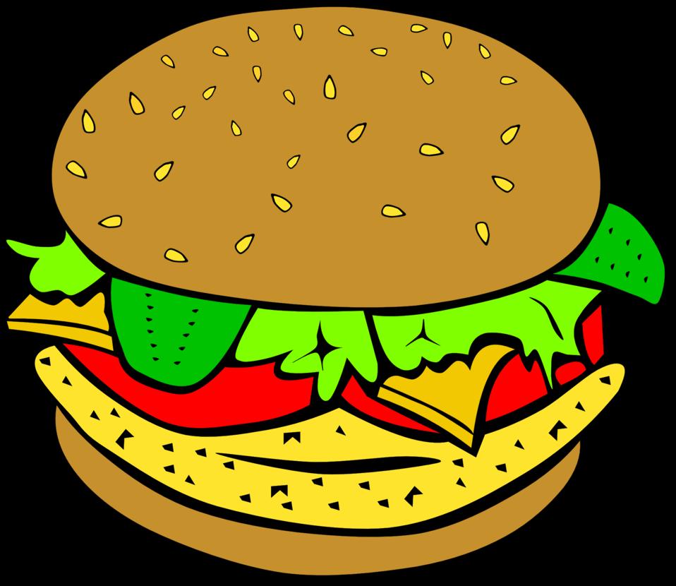 clipart black and white library Public domain clip art. Buildings clipart burger