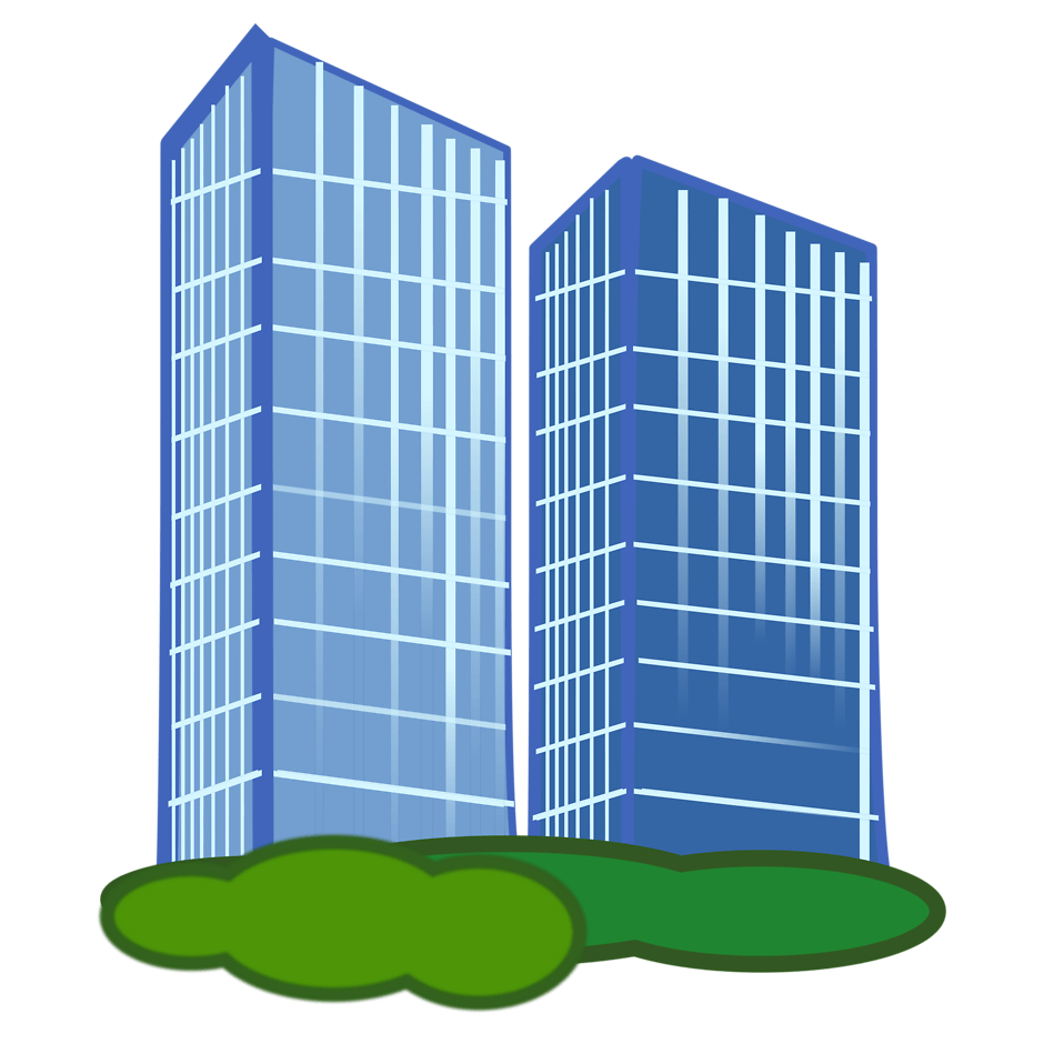 clipart library library  illustration of office. Buildings clipart charity